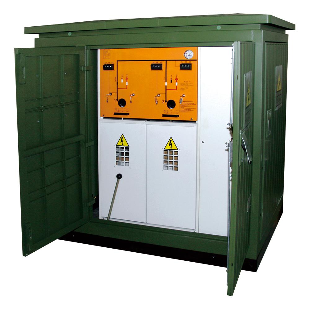 10kV環網型雙電源備自投配電系統